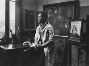 Frank Mechau in Paris Studio